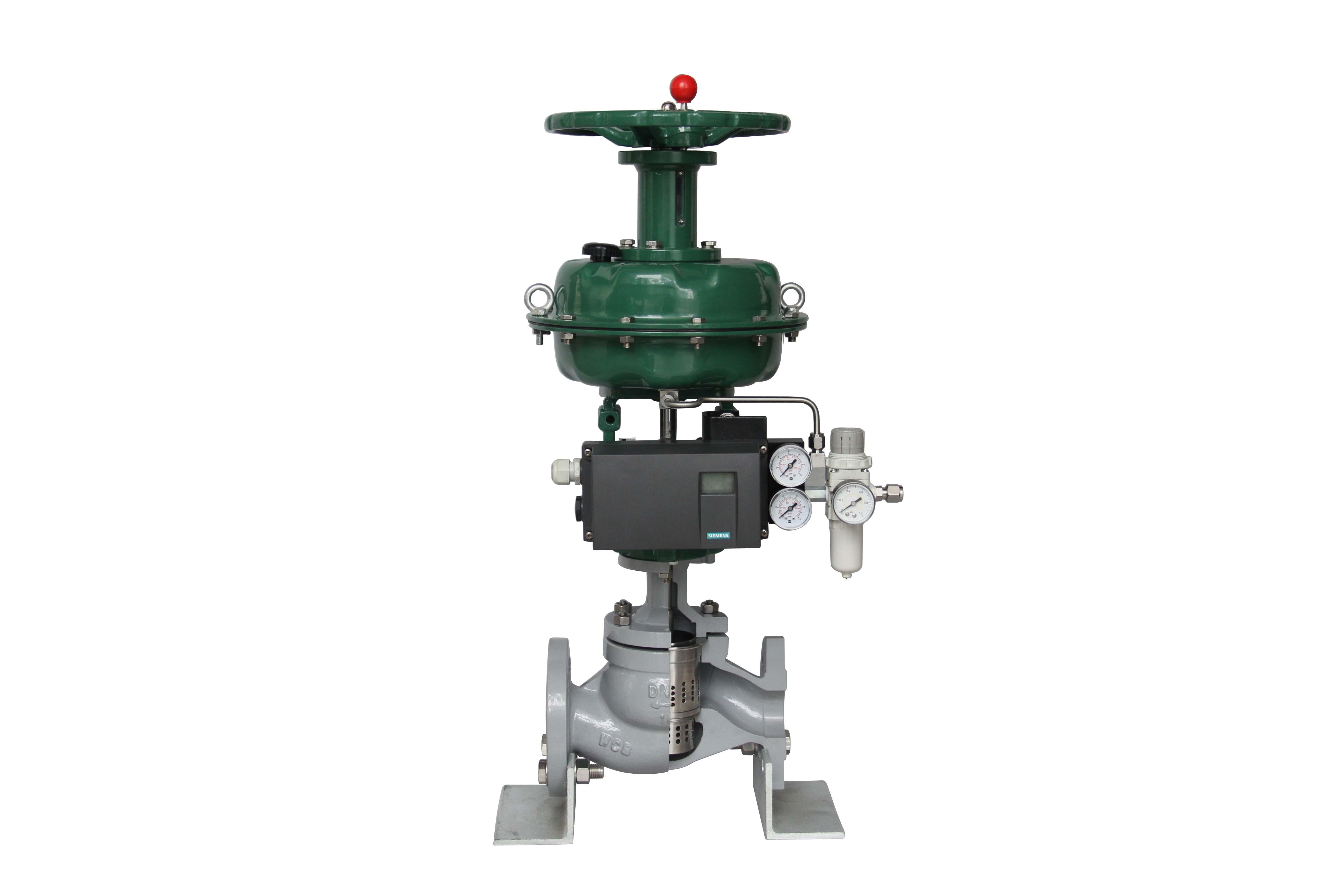 气动薄膜调节阀 GTZJHM--40K;DN200 PCV-(4-5)447