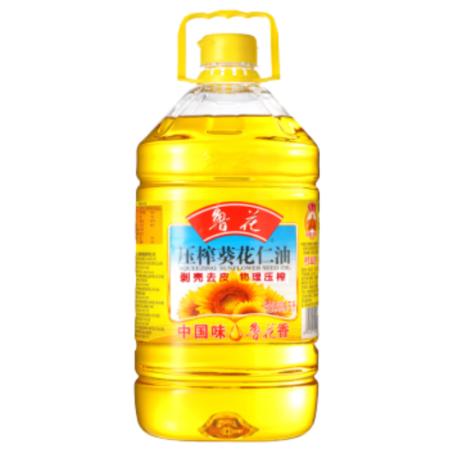 鲁花 压榨葵花仁油5L(仅限南钢一号服务区超市自提,如需快递运费由买家承担)