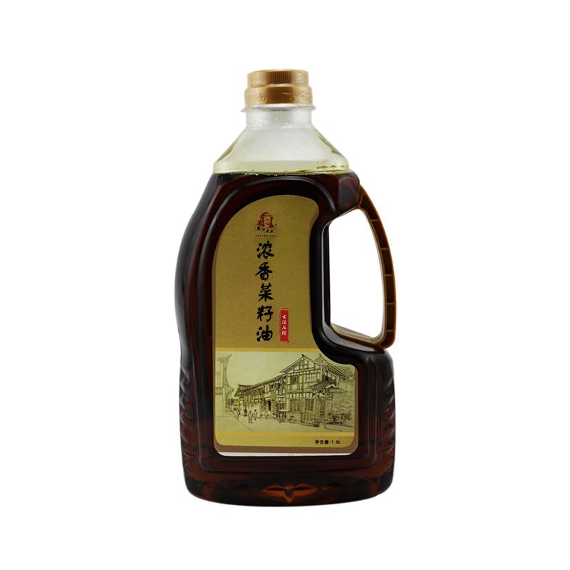 薽油婆婆浓香压榨菜籽油1.8L