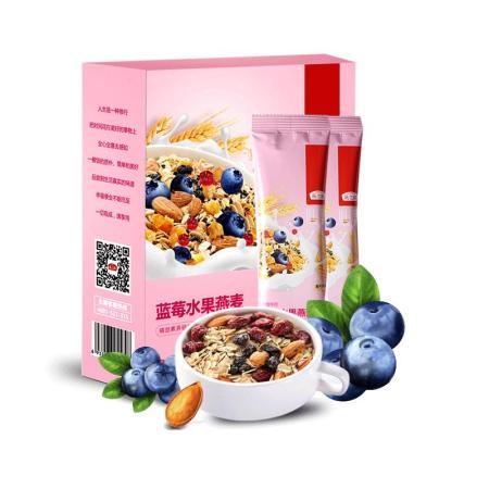 燕之坊 黑加仑凤梨燕麦220g、蓝莓燕麦 220g 禅食伴侣 五谷伴侣美味 水果燕麦