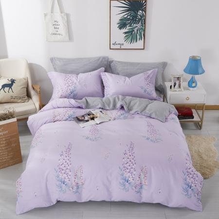 床上用品 四件套 约克罗兰 全棉斜纹印花套件—温馨岁月