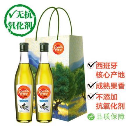 中粮萨维亚 特级初榨橄榄油礼盒500ml*2