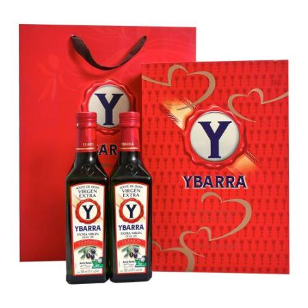 YBARRA CLASICO经典系列特级初榨橄榄油500ml*2(西班牙进口 礼盒)