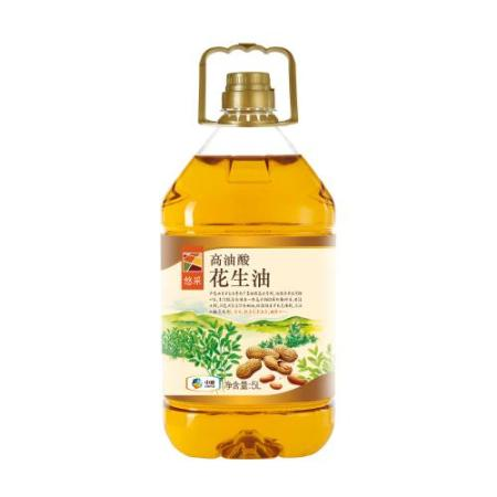 中粮悠采 高油酸浓香花生油5L