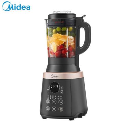 美的(Midea)破壁机料理机搅拌机榨汁机辅食机家用智能预约豆浆机BL1037A 黑色