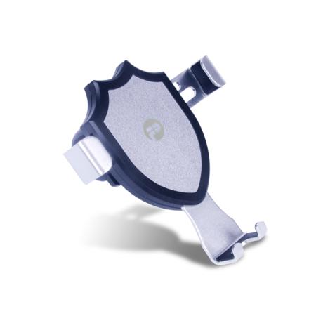 车载手机支架 汽车出风口手机座卡扣式夹 自动感金属重力感应车载支架PCB-06浦诺菲