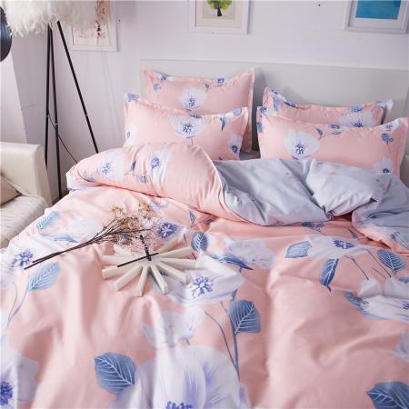 约克罗兰 韩香棉套件—香满园 床上用品 四件套