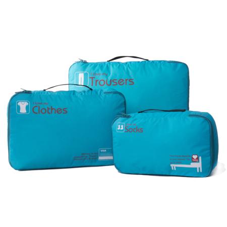 GOX多彩收纳包 户外旅游便携式大容量收纳套装 尼龙袋 家庭整理衣物收纳袋