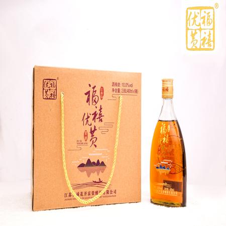 福禧优黄江南春黄酒