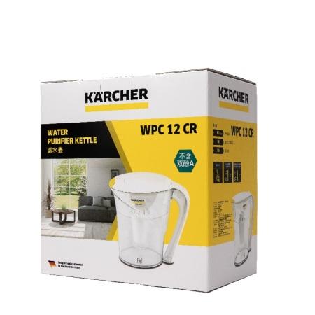 KARCHER德国卡赫手持家用滤水壶净水壶WPC 12 CR