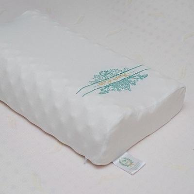 素万天然乳胶枕SP2 成人高低按摩枕(矮版)