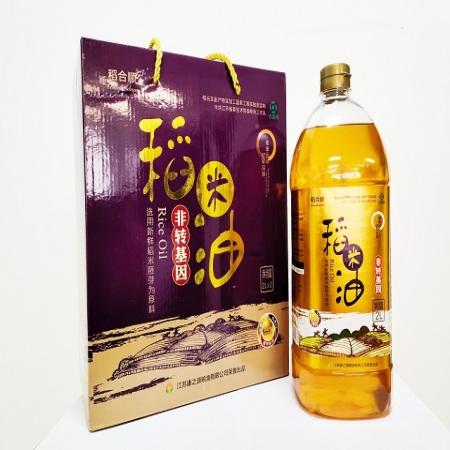 【名优特推 冠军推荐】稻合顺一级稻米油2L(只限团购)
