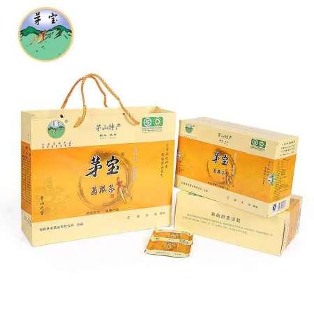 茅宝牌野生葛根茶有机食品茅山特产180g独立包装节日礼品茶