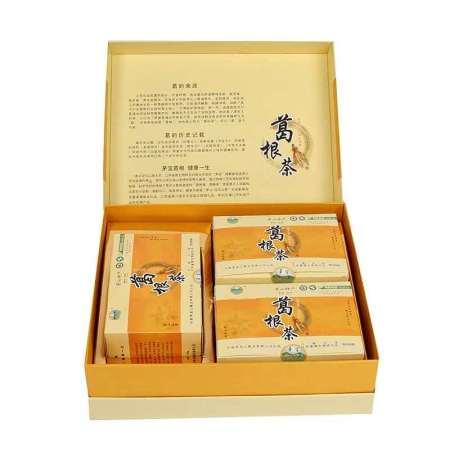 茅宝牌葛根茶360g硬盒节日礼品茶有机食品茅山特产独立袋装茶