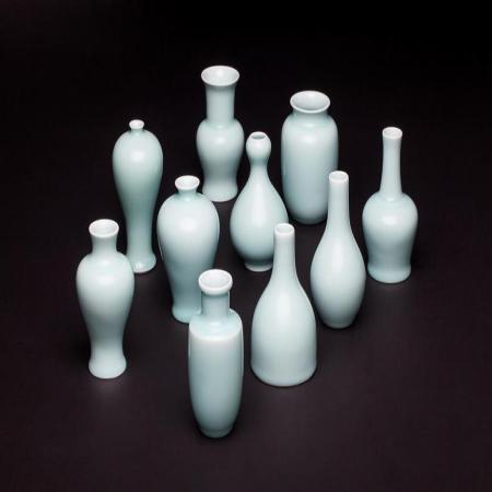 5寸青瓷花器(10钟款式可供选择)