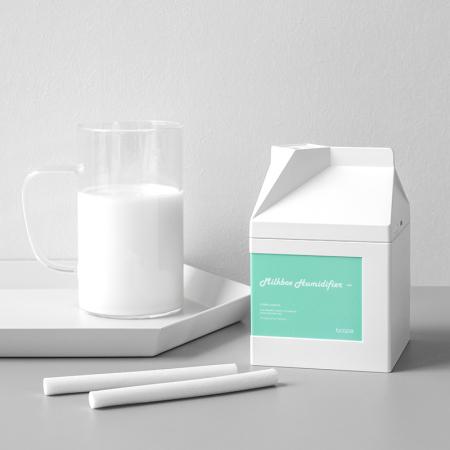 bcase牛奶盒 迷你加湿器 USB静音小型办公室