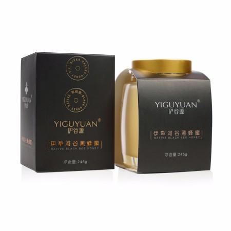 伊谷源伊犁河谷黑蜂蜜  245g/瓶