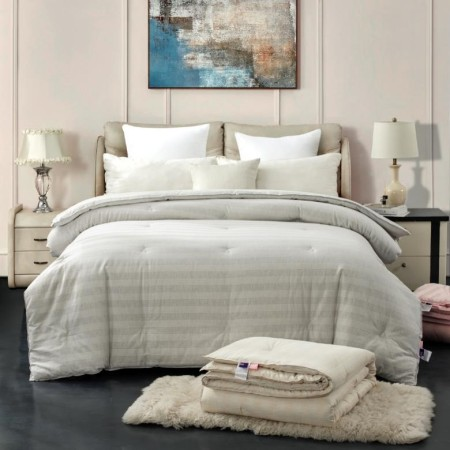 彩棉棉花冬被新西兰OKIOKI SLEEP FACTORY床上用品