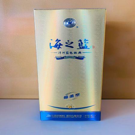洋河蓝色经典海之蓝,酒精度42%,净含量480ml
