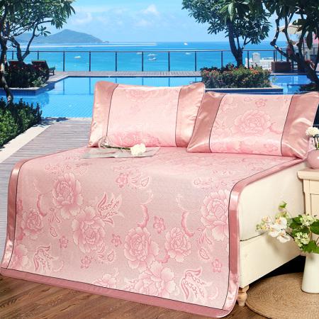 床上用品 约克罗兰 冰丝提花凉席
