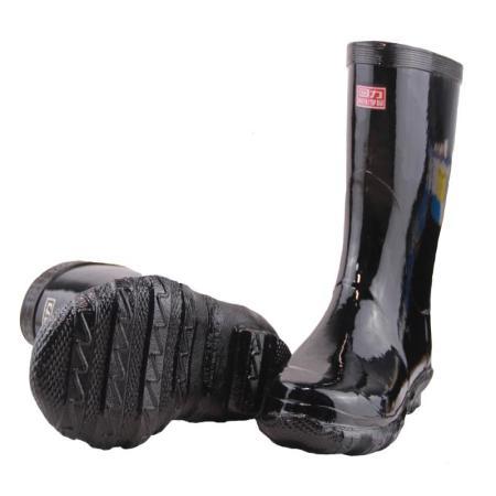 防酸中统胶靴