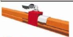 提挂夹装配件 HKTGJ-3-1/845723,42mm*56.5mm,材质聚碳酸脂,注塑