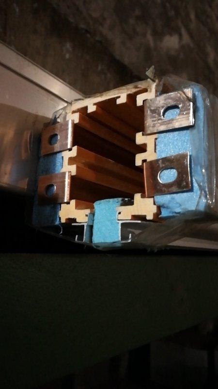 铜滑触线 HYBC-T700A,30mm*40mm,材质T2铜,热挤