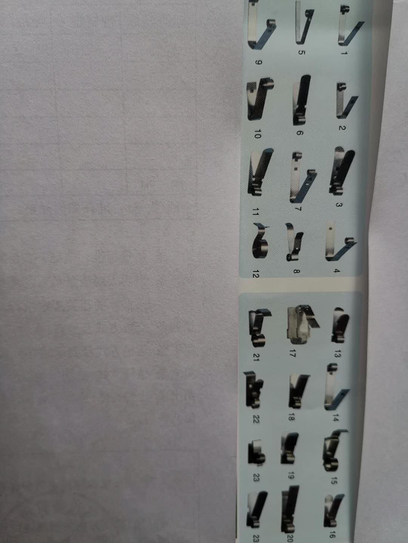 不锈钢恒力压簧 YH72A,长135mm宽18mm厚1.8mm材质301及2Cr19Ni9M,冲压