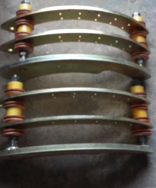 刷架电源电缆 HYL014-1172,7mm*12mm,材质银刷,烧结