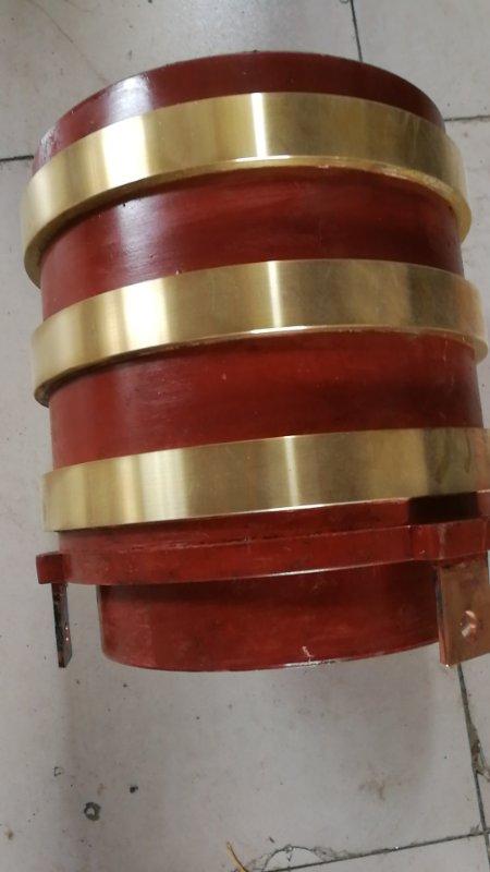 滑环 WSH-40,φ410mm,高760mm,材质QSn663,铸造、机加工,