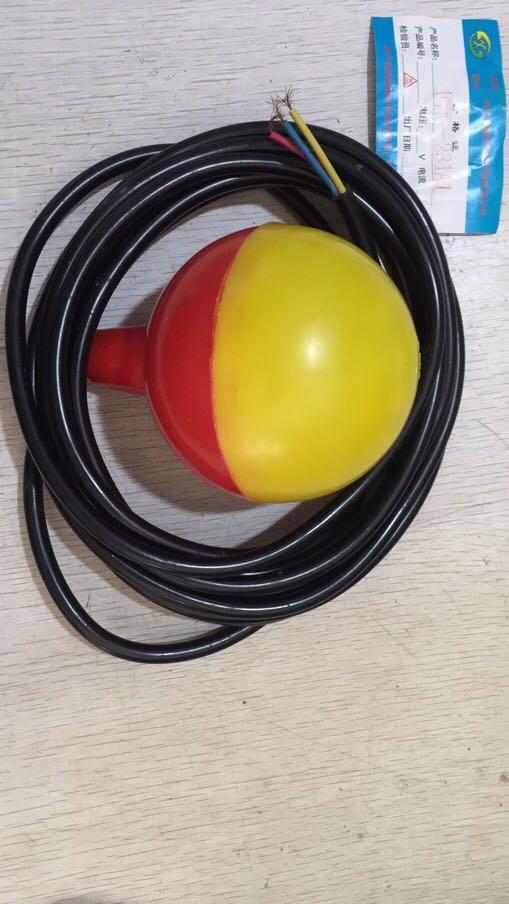 浮球开关 LP30-3KH-G球形Φ90,工作温度<70℃,电压AC220V,电流0.5A,常开。