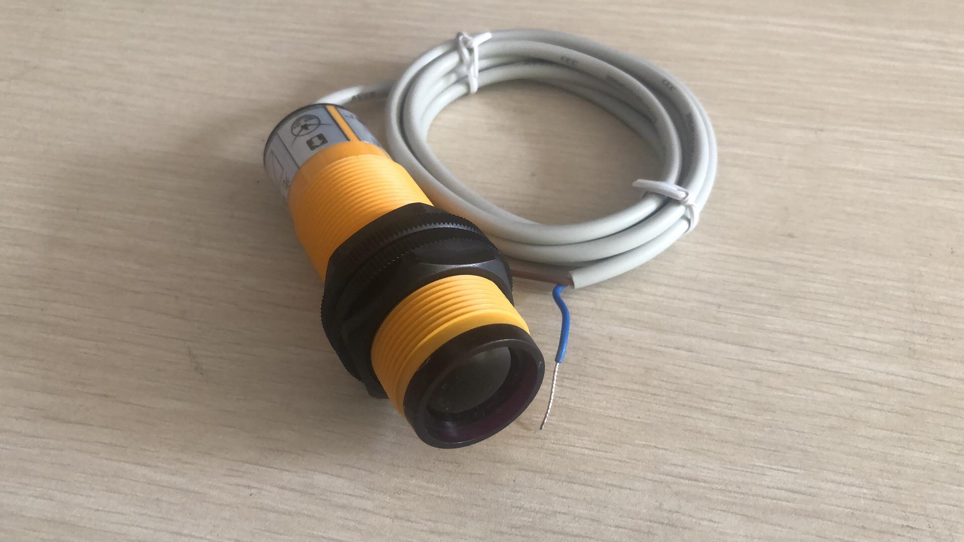 光电开关 DTE9m3-3NK-F80*24*50,检测距离5m,DC24,NPN,常开