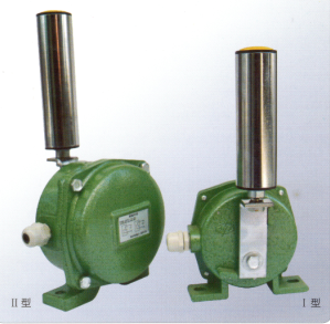 跑偏开关 DQK-10-45动作角度一级为10′,二级为45′,常闭,触点容量AC220V,防护等级IP67.