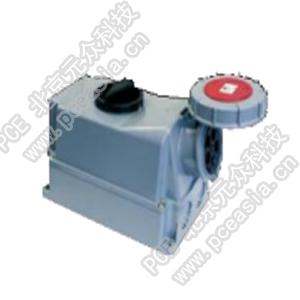 开关连锁插座75332-6 PCE75332-63A/3P/400V/IP67