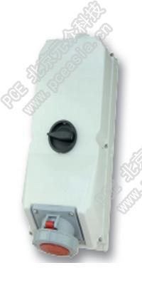 开关连锁插座9755099 PCE9755099-125A/4P/400V/IP67