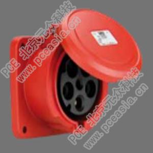 法兰插座 直插(订货号3341-6 PCE3341-63A/4P/400V/IP44