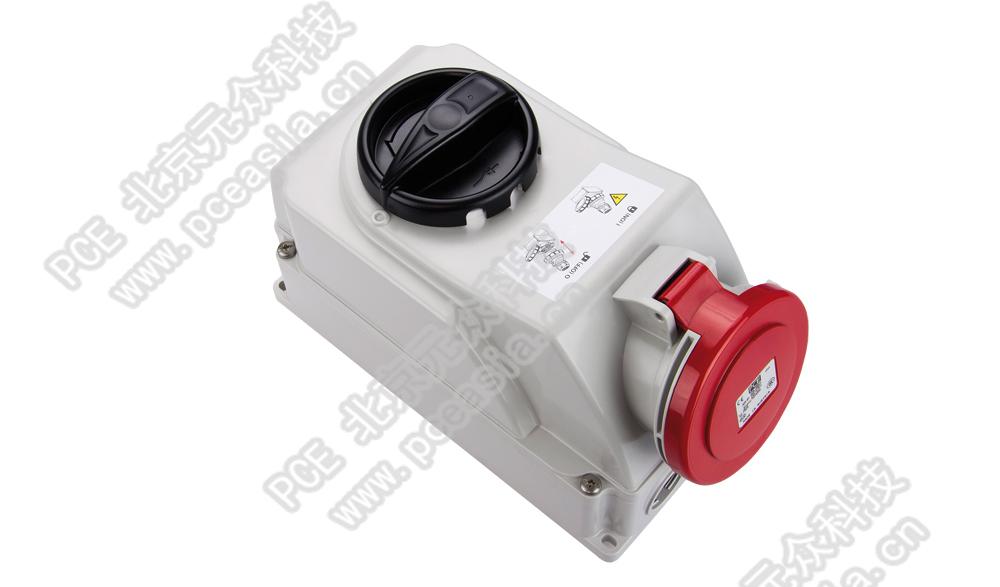 开关连锁插座(订货号7525-6 PCE7525-32A/5P/400V/ IP44