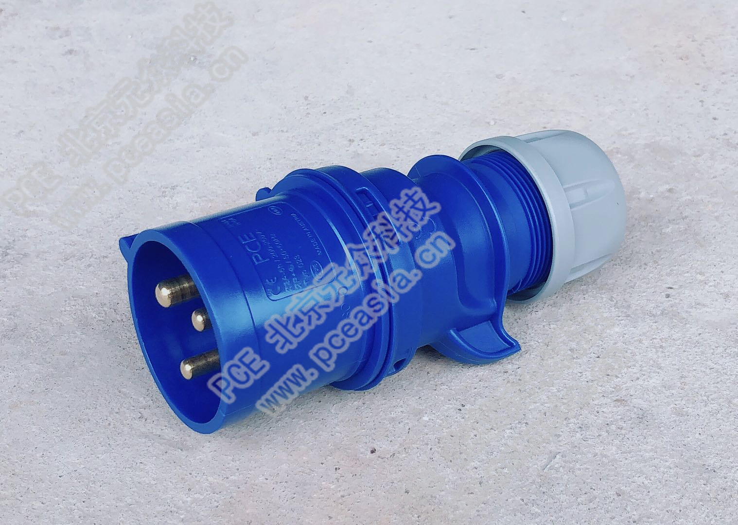插头(订货号023-6 PCE023-32A/3P/230V/IP44