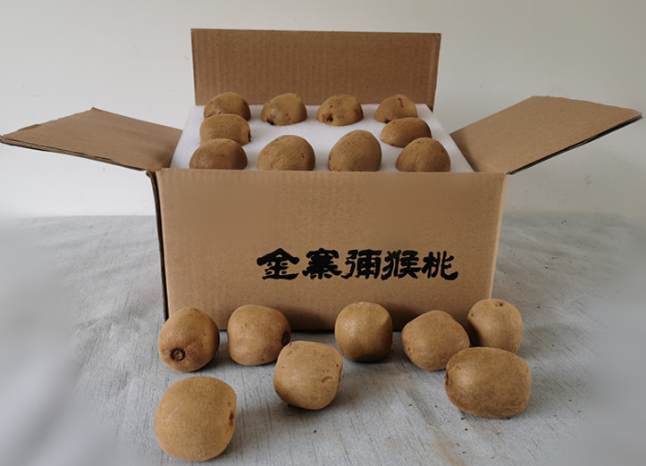 金寨大别山南山猕猴桃3斤装(单果70-80克20枚)