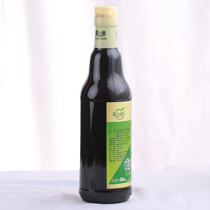 大宁县果谷康4度苹果谷物山西陈醋420ml烹炒拌蘸