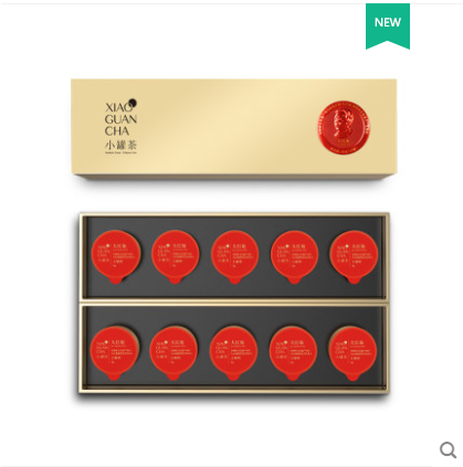 小罐茶特级乌龙茶大红袍茶叶礼盒装40g新年年货送礼佳品送长辈