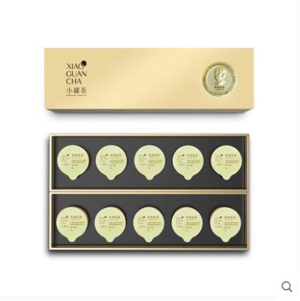 小罐茶特级伏天七窨茉莉花茶茶叶礼盒装40g 新年年货送礼佳品