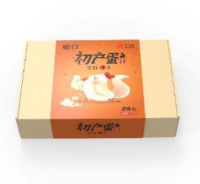 首农峪口初产蛋24枚礼盒鸡蛋礼品h