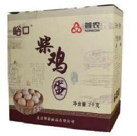 首农峪口散养柴鸡蛋40枚鸡蛋礼盒h