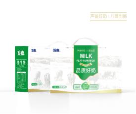 首农八喜品质好奶礼盒4L牛奶 h