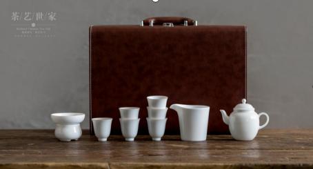 大润窑茶具象牙白套装(茶壶)DRY013礼品