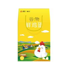 首农谷物散养A蛋40枚礼盒鸡蛋h