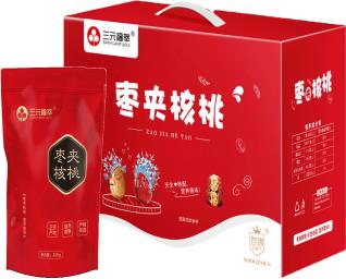 三元福萃枣夹核桃礼盒A款1000g 坚果礼品 h