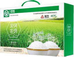 首农双河香珍珠米礼盒5kg大米h
