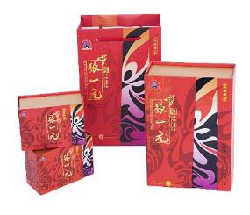 张一元红脸谱茶礼盒茉莉花茶100g/盒(50g*2盒)礼品h